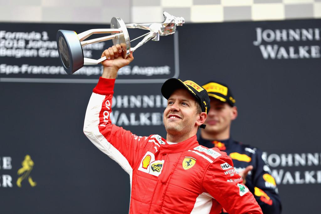 Зебастиан Феттель выиграл Гран-при Бельгии. Сироткин – 12-й