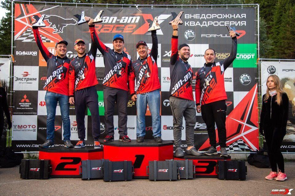 Сергей Карякин стал серебряным призером второго этапа Can-Am X Race