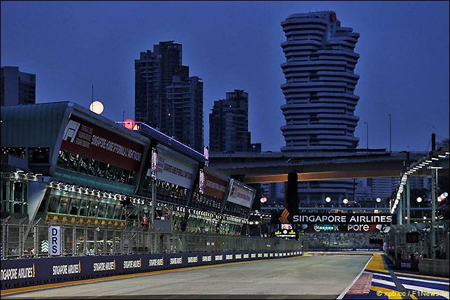 Гран При Сингапура: Стартовое поле