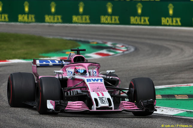 Racing Point Force India двумя машинами заработала очки