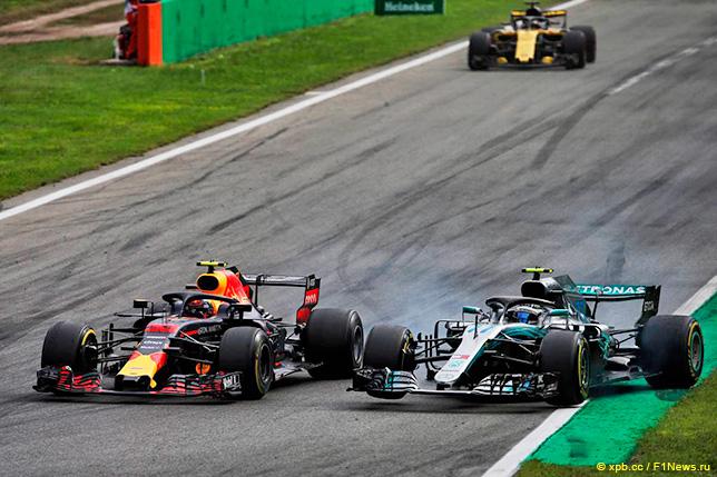 Гонщики: Штрафные баллы после Гран При Италии