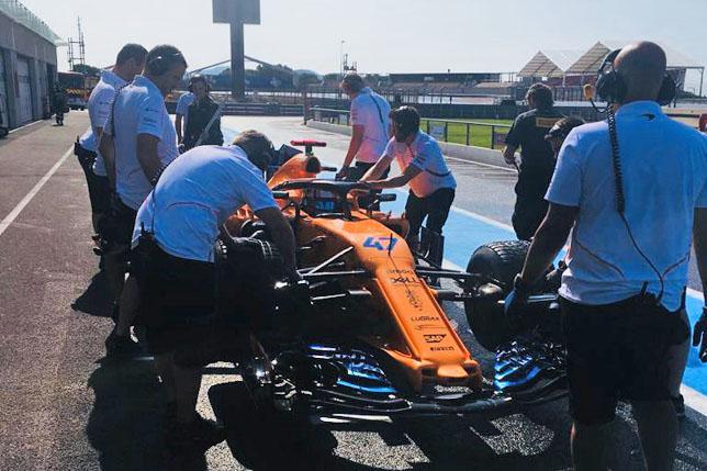 В Pirelli начали тесты дождевой резины