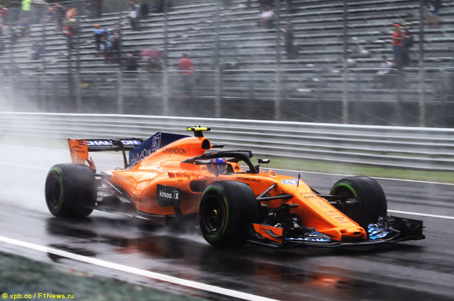 Pirelli и McLaren завершили двухдневные тесты