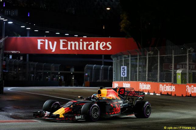 Даниэль Риккардо: Пришло время победить в Сингапуре!
