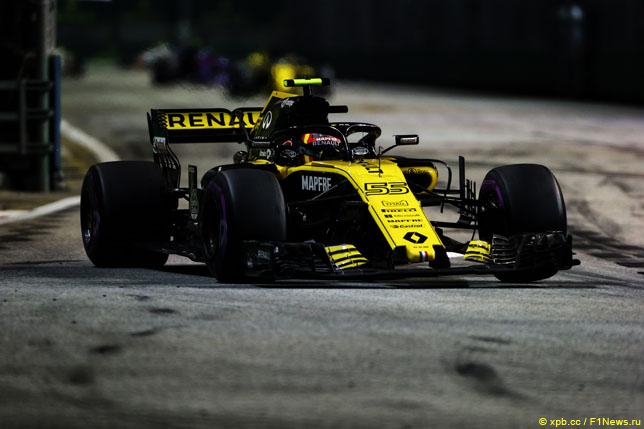 Renault увеличила отрыв от Haas в Кубке конструкторов