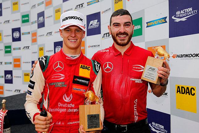 Ф3: Мик Шумахер продолжает победную серию