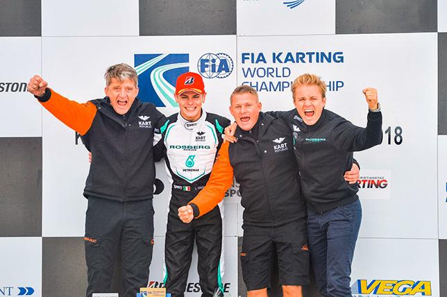 Воспитанник Росберга выиграл чемпионат мира по картингу