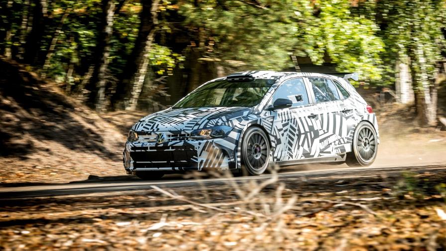 """Два новых автомобиля """"Фольксваген Поло R5"""" дебютируют в испанском этапе WRC"""