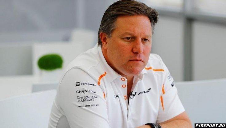 Зак Браун считает, что руководители Toro Rosso должны подписать контракт с Вандорном