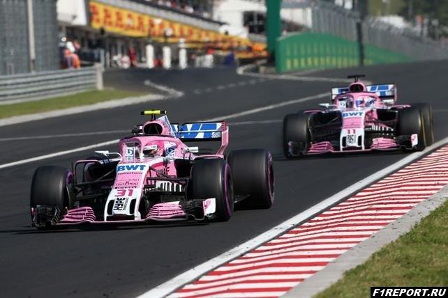 В России состав Racing Point Force India не изменится