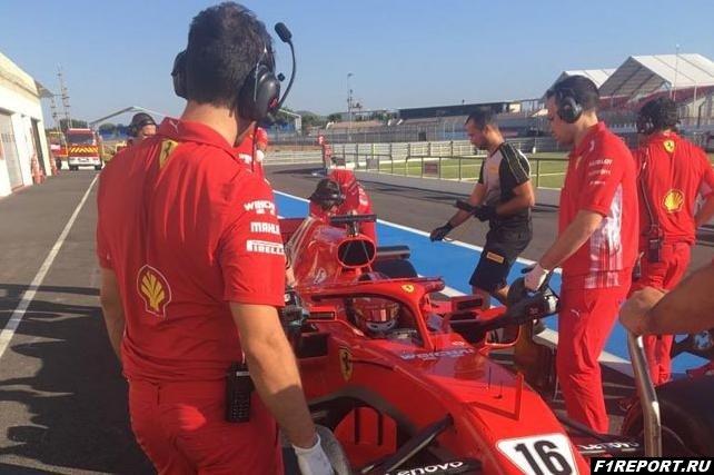На трассе Поль-Рикар завершился первый день тестов Pirelli