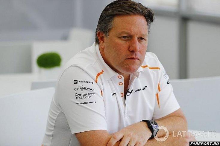 Браун подтвердил, что Норрис претендует на место в McLaren