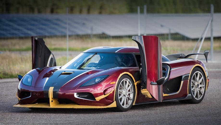 Они быстрее Ф1: серийные автомобили, которые ставили мировые рекорды скорости
