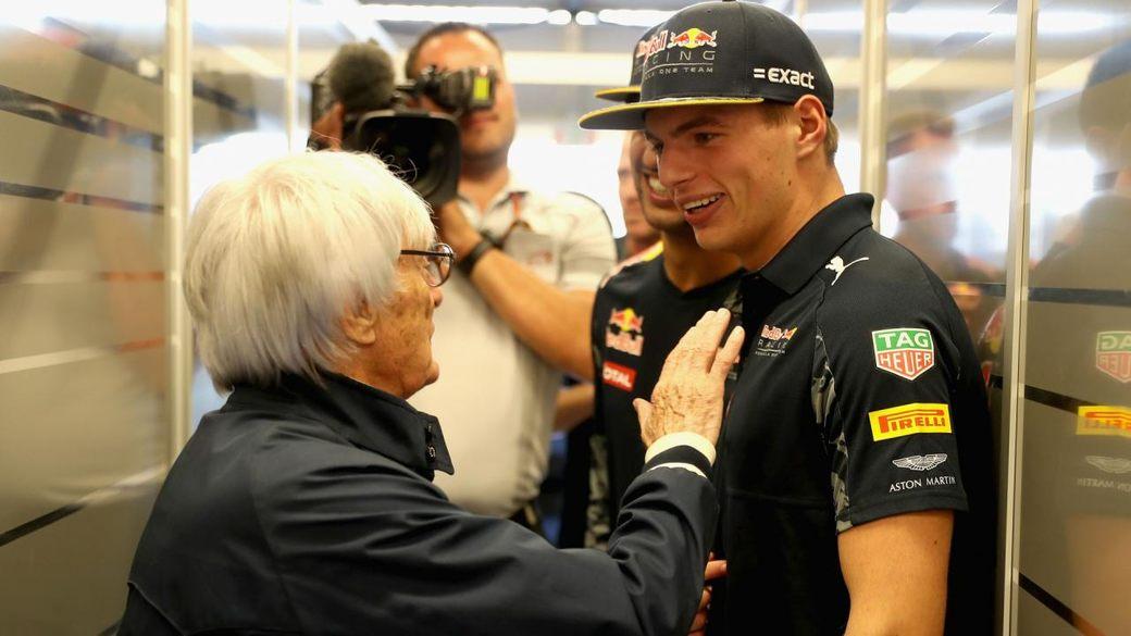 Берни Экклстоун: Не думаю, что в Mercedes и Ferrari ждут Ферстаппена