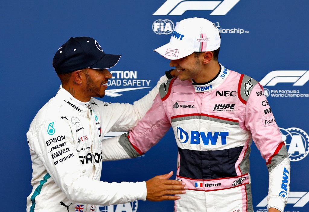 Mercedes может освободить Эстебана Окона от контракта