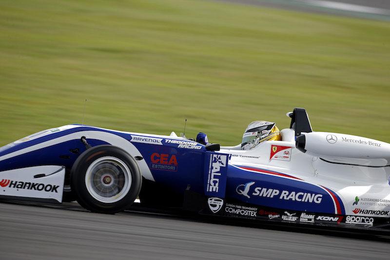 Роберт Шварцман завоевал поул в первой квалификации Ф3 на Нюрбургринге