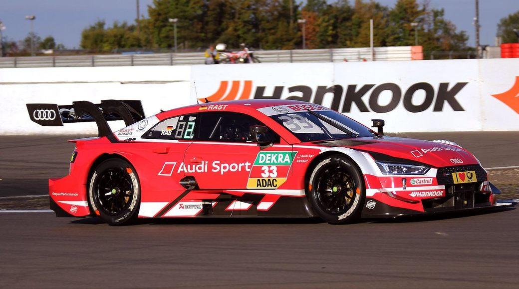 Рене Раст отпраздновал победу в первой гонке DTM на Нюрбургринге