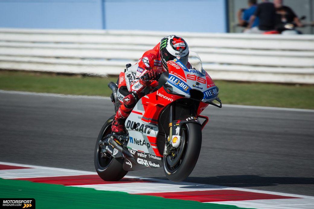 Хорхе Лоренсо выиграл квалификацию Гран При Сан-Марино
