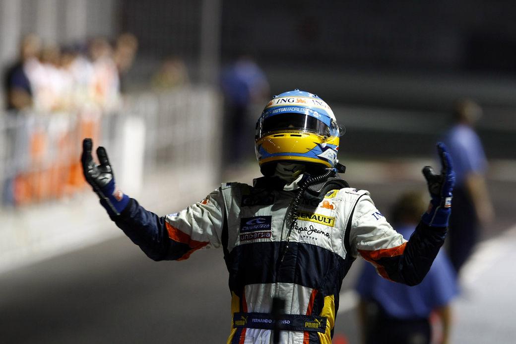 Фернандо Алонсо: Я не буду говорить о событиях Гран При Сингапура-2008
