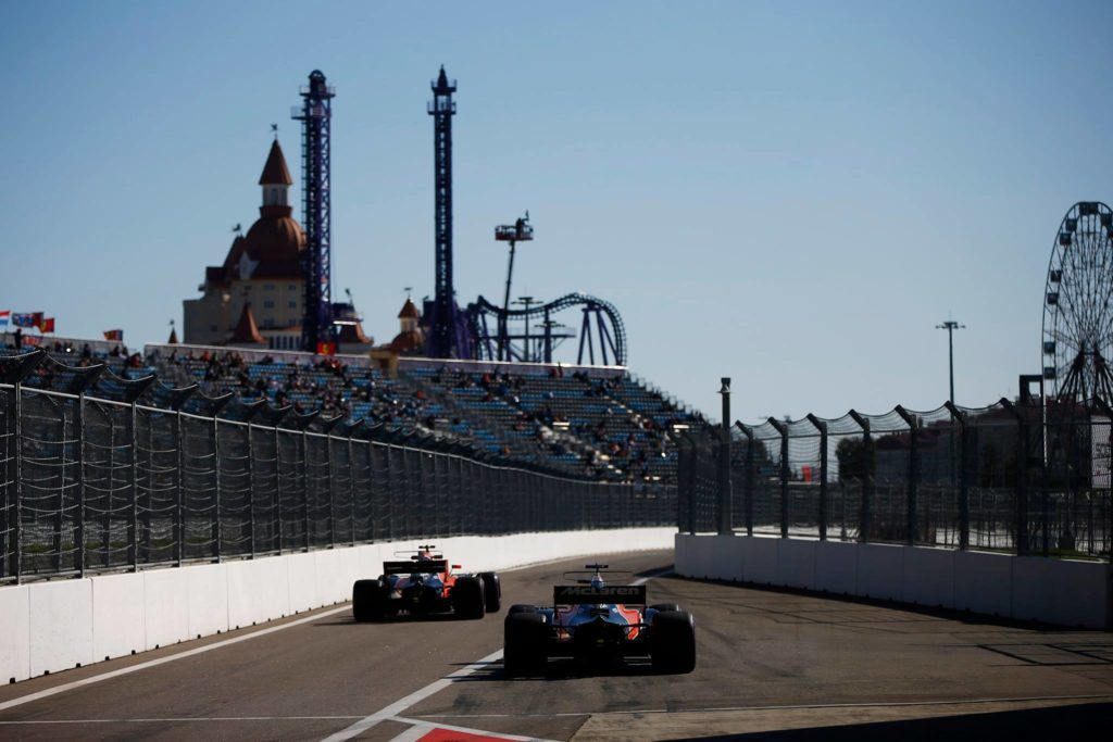 Pirelli представила выбор шин на Гран При России
