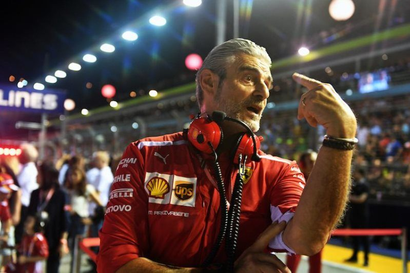 Маурицио Арривабене: Если ищите виновного в неудачах Ferrari, то он перед вами