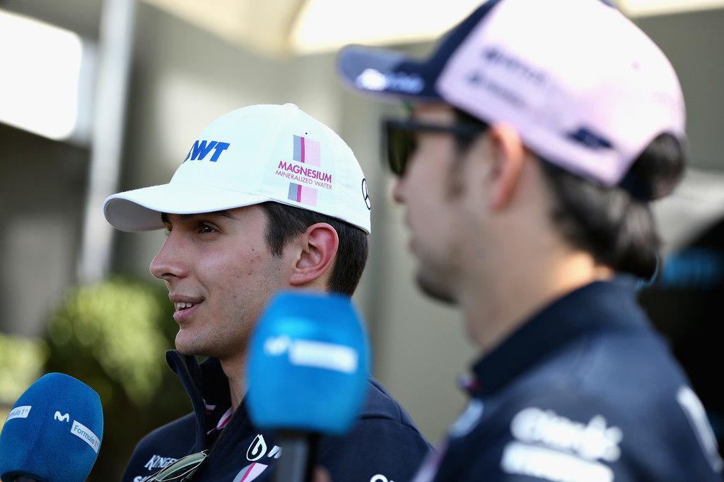 Серхио Перес: Окон заслуживает места в Формуле 1