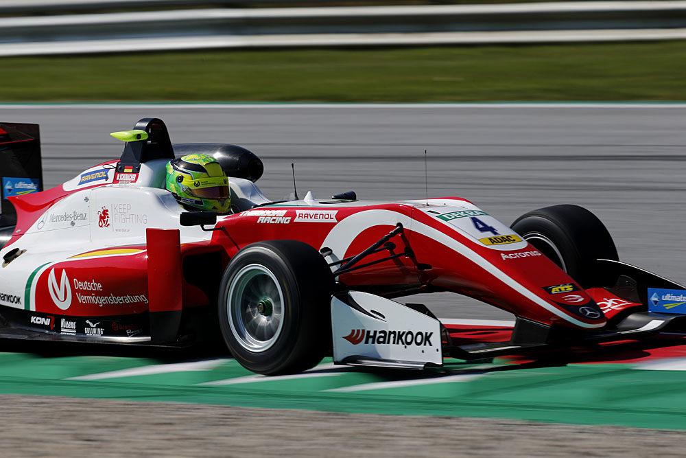 Мик Шумахер стартует с поула во второй и третьей гонках Европейской Ф3 в Шпильберге