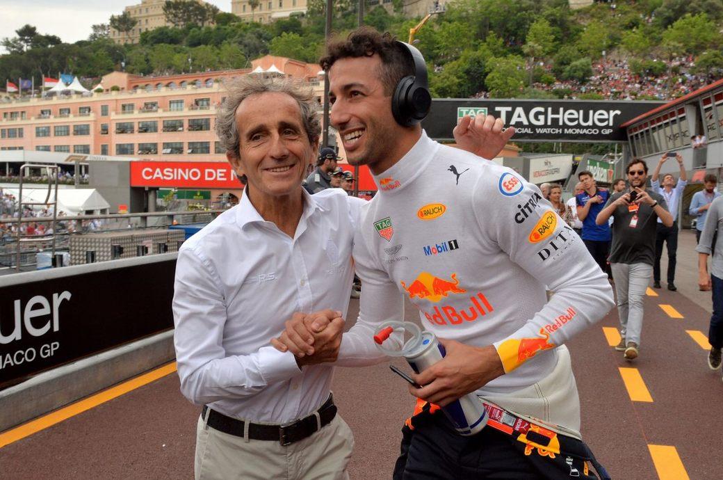 Ален Прост: В Renault удивились, когда Даниэль Риккардо ответил согласием