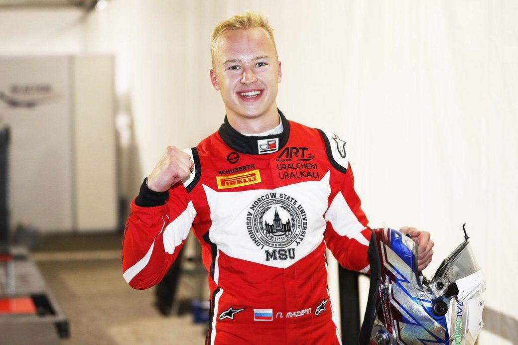 Никита Мазепин выиграл квалификацию GP3 на Сочи Автодроме