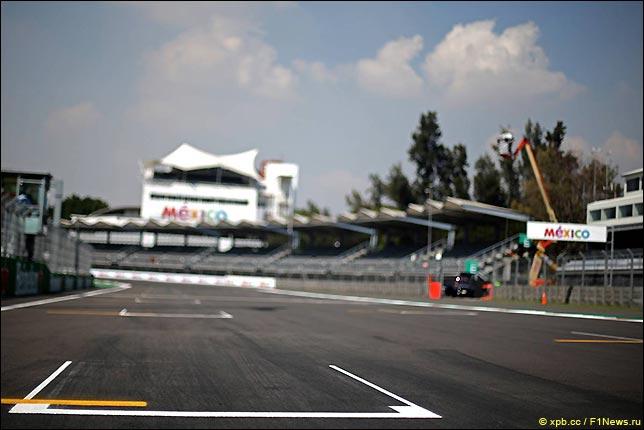 Гран При Мексики: Стартовое поле