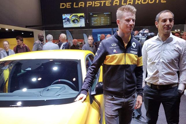 Хюлкенберг уверен –Renault удержит четвертое место