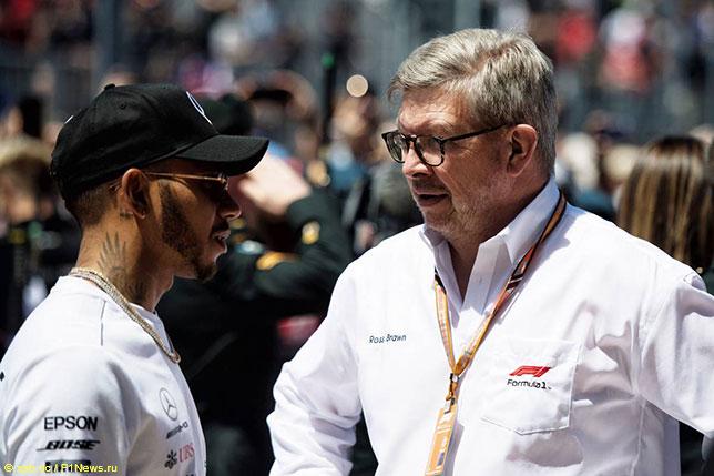 Росс Браун: Хэмилтону под силу побить рекорды Шумахера