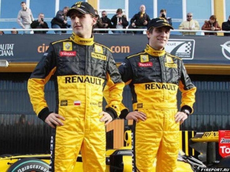 Кубица решил вспомнить о совместной работе в Renault с Петровым