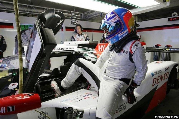 В Toyota рассчитывают на то, что они смогут продлить контракт с Алонсо