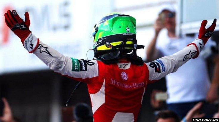 Масса надеется, что скоро Мик Шумахер перейдет в Формулу 1