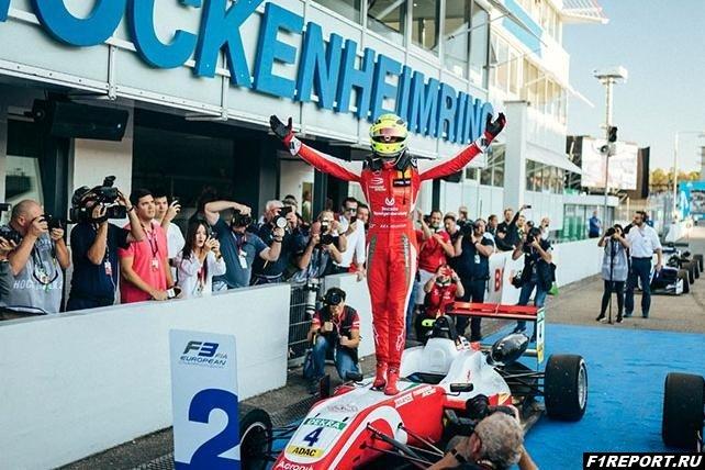 Бергер:  Если Мик Шумахер не сбавит обороты, то скоро мы увидим его в Формуле 1