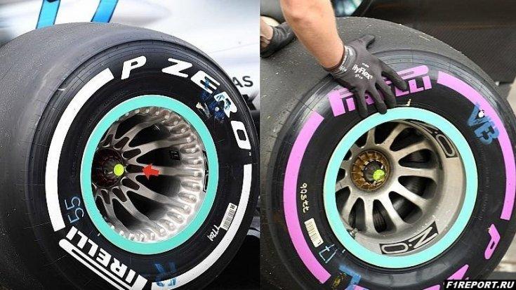 У сотрудников FIA нет претензий к колесным дискам Mercedes