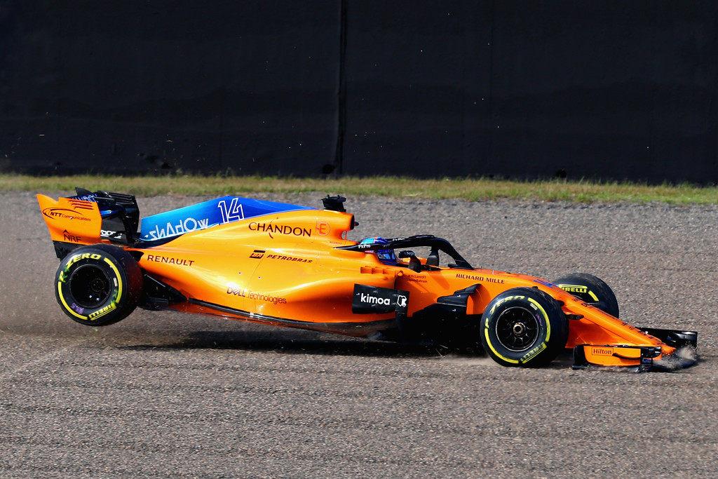 Фернандо Алонсо: Машина McLaren не улучшается с Гран При Испании