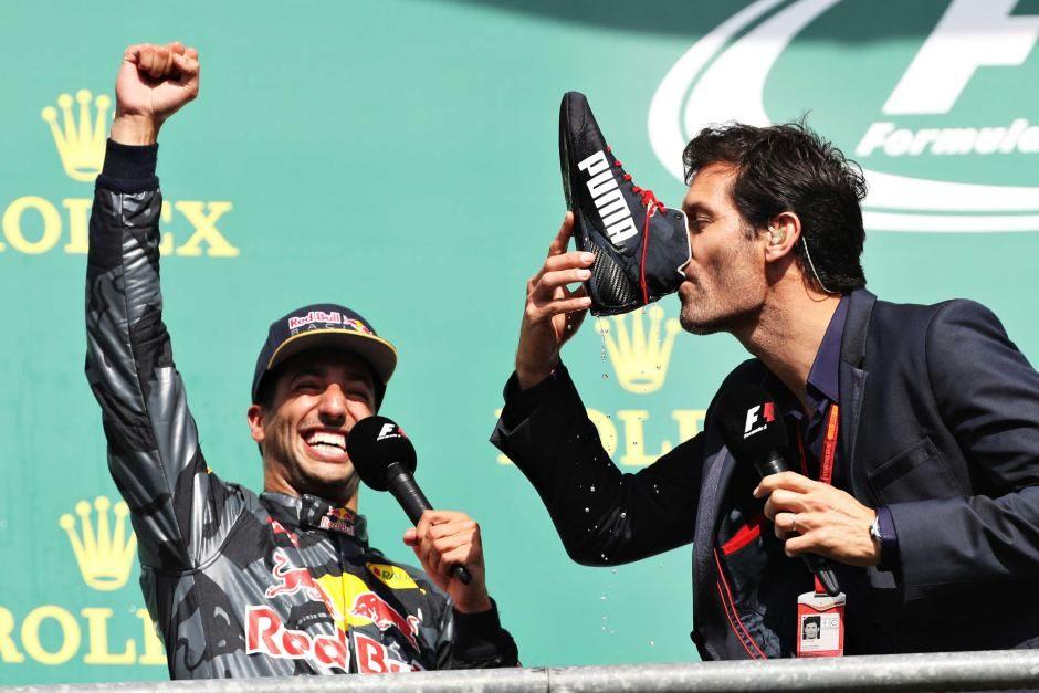 Марк Уэббер поставил под сомнение решение о переходе Даниэля Риккардо в Renault