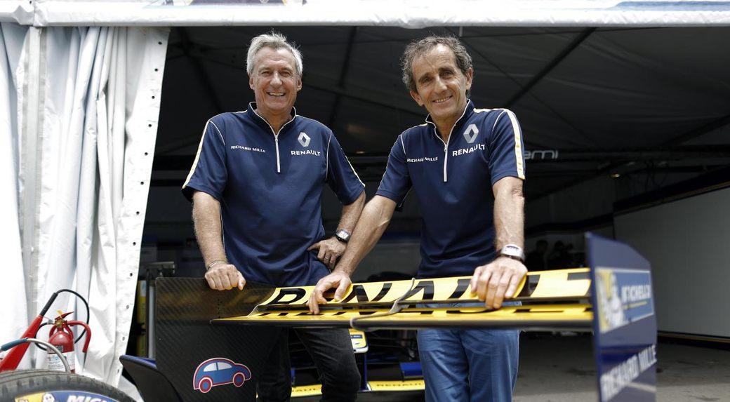 Ален Прост: Я бы вообще снял диффузоры с машин Формулы 1