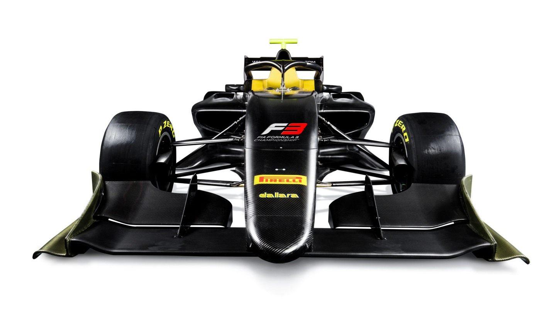 Представлена машина Международной Формулы 3 сезона-2019