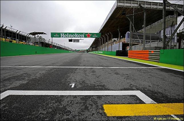 Гран При Бразилии: Стартовое поле