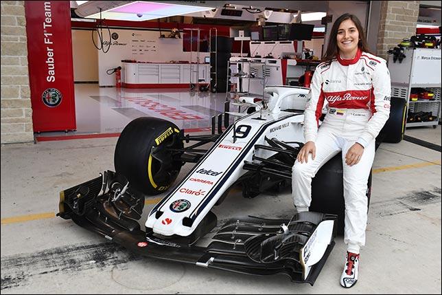 Татьяна Кальдерон проведёт два дня тестов с Sauber