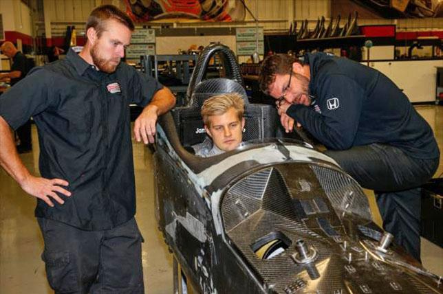 Эриксон: Выступления в IndyCar – долгосрочный проект