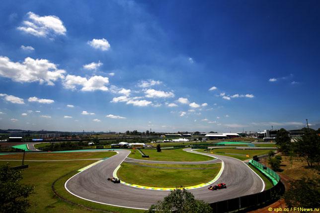 Гран При Бразилии: Предварительный прогноз погоды