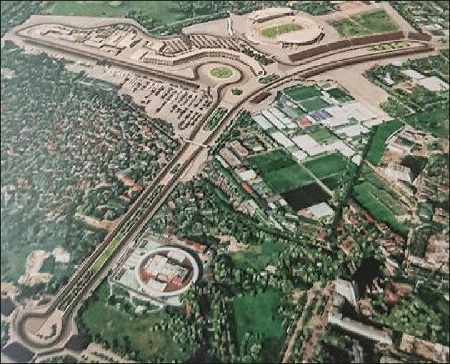 Появился рисунок вьетнамской трассы