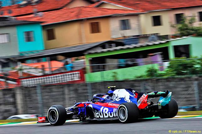 Неоднозначные результаты тренировок для Toro Rosso