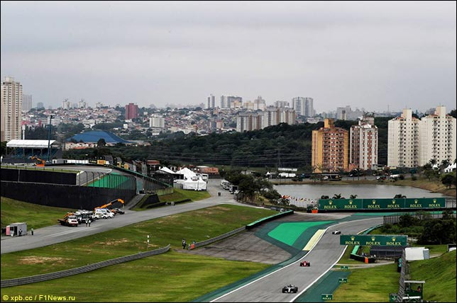 Гран При Бразилии: Прогноз погоды на гонку