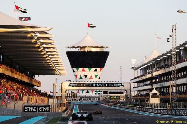 В Абу-Даби хотят, чтобы гонка всегда завершала сезон