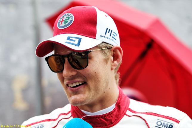 Маркус Эриксон: Цель команды – опередить Force India